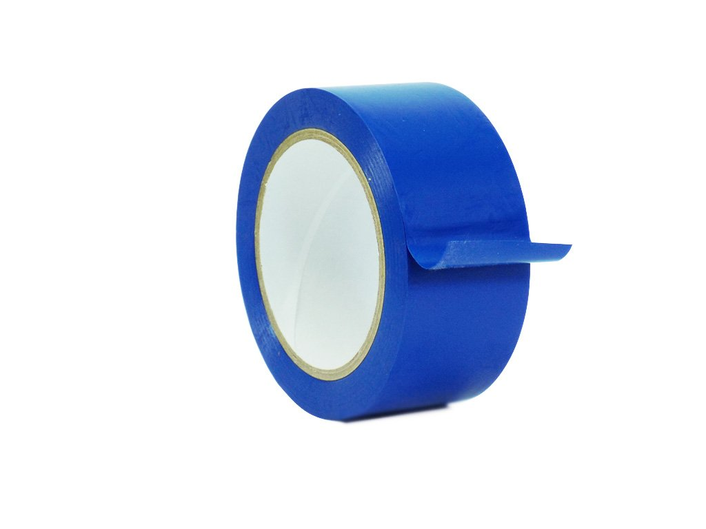WOD CVT-536 Dark Blue Vinyl Pinstriping Dance Floor Tape, Safety Marking Floor Splicing Tape (Also Available in Multiple Sizes & Colors): 3 in. wide x 36 yds. (Pack of 1)