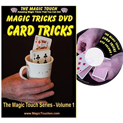 Magic Card Tricks - Amazing Card Tricks DVD Volume 1 - Full Demonstration and Explanation of Basic Skills to Help You Perform Stunning Magical Tricks with Sleight of Hand Tricks & Self Working Tricks: Toys & Games
