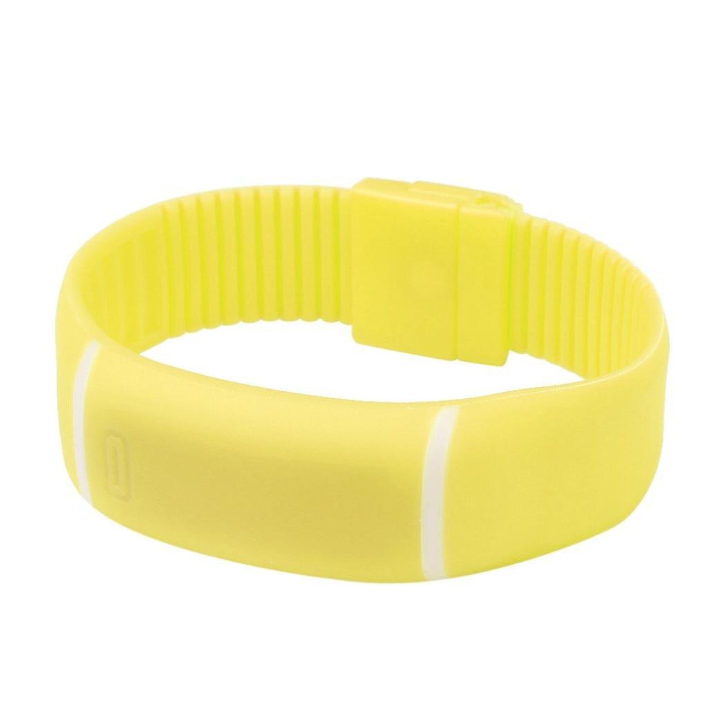 Sunday Colorido Impermeable Suave Led Touch Watch Jalea De Caramelo Goma De Silicona De Pantalla Pulsera Reloje Deportes Unisex Wristwatch De Las Mujeres ...
