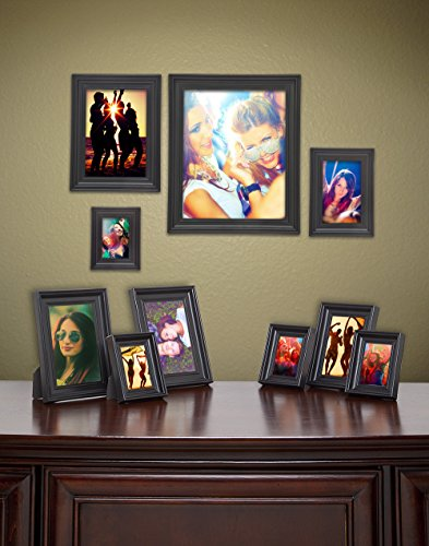 James Scott Black Picture Frames Set of 10 Photo Frame – O