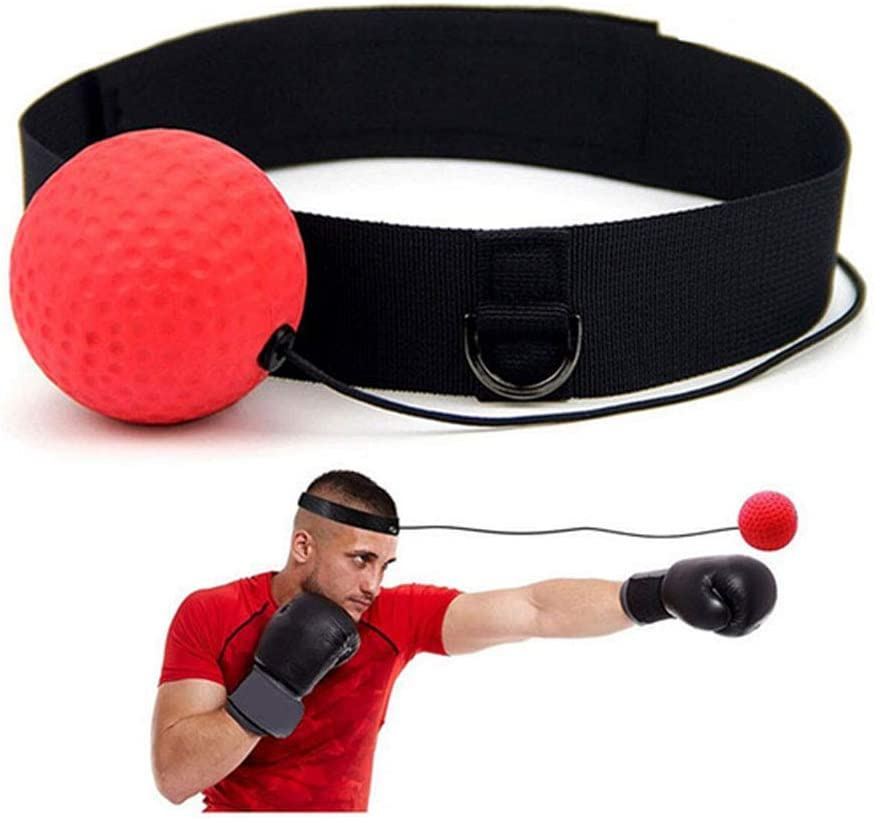 SGODDE Reflex Boxing Ball Fight Ball Reflex on String with Headband for Fight MMA Training Speed Reactions Adult//Kids Improve Punch Focus Sport Exercise Practice Fitness