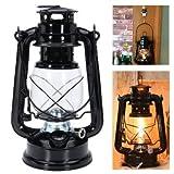 Oil Lamp Outdoor - Hanging Oil Lamp - Retro Oil Lantern Outdoor Garden Camp Kerosene Paraffin Portable Hanging Lamp ( Portable Oil Lamp )