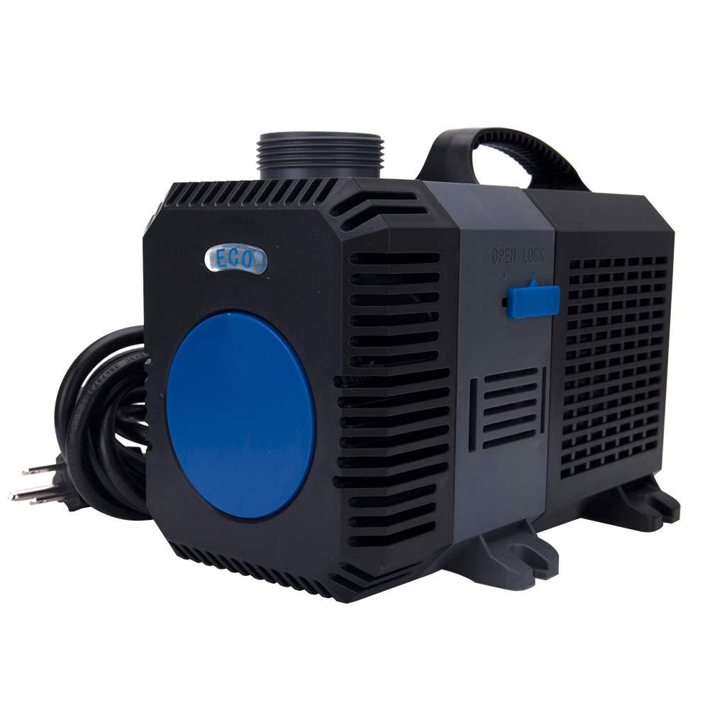 Adjustable 950-4200 GPH Submersible Frequency Water Pump Aquarium Fish Pond Hydroponics (4200GPH)