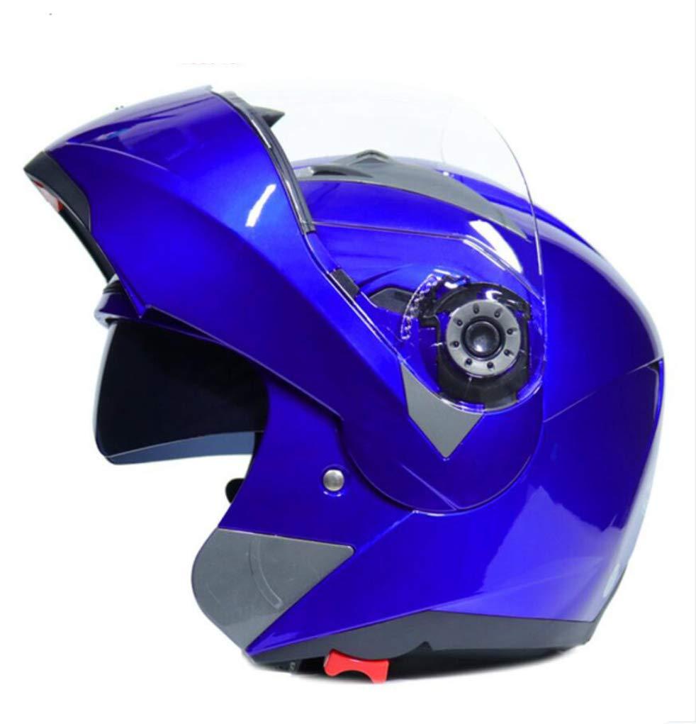 Casco de motocicleta con 25 colores OLEEKA Full Face Flip Up