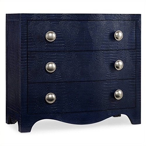Accent Chest Midnight (Hooker Furniture 638-85097 Blue Nile Chest, Midnight Blue)