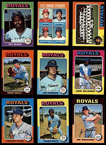 - Topps Mini 1975 Topps MINI Kansas City Royals Team Set Kansas City Royals (Baseball Set) Dean's Cards 5.5 - EX+ Royals