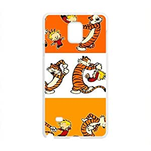 Calvin and tigger Cell Phone Case for Samsung Galaxy Note4