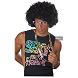 California Costume Men's Jumbo Afro Wig, Black, ADULT