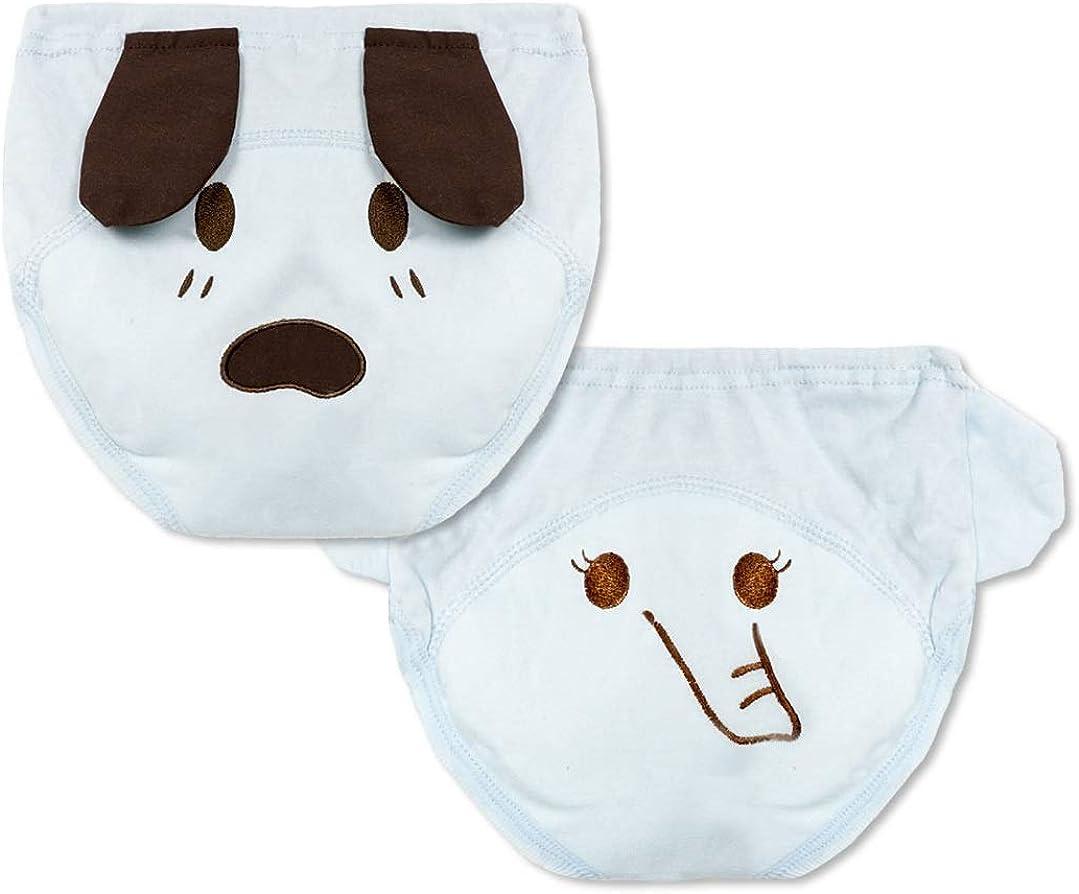 4 Pack Infant Baby Girls Boys Animal Reusable Toilet Training Pants Waterproof Cartoon Nappy Underwear Cloth Diaper