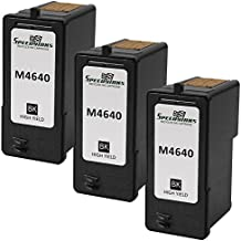 Speedy Inks - 3 Pack Remanufactured Replacement M4640 / 310-5368 Series 5 High Yield Black Ink Cartridge for use in Dell Photo all-in-one 922, 924, 942, 944, 946, 962, & 964