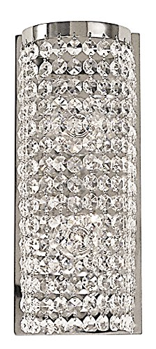 Framburg 2341 PS 2-Light Princessa Sconce, Polished (Framburg Silver Sconce)