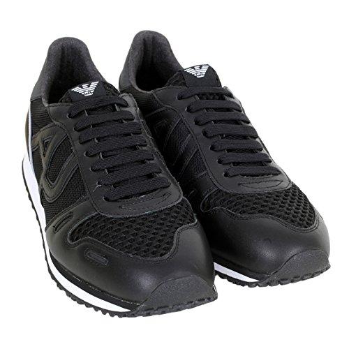 Armani Jeans - Zapatillas de Otra Piel para hombre negro negro
