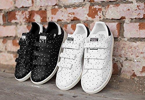 5122b61bf2af ... adidas Damen Stan Smith CF Sneaker Low Hals Weiß (Core Black core  Black  ...