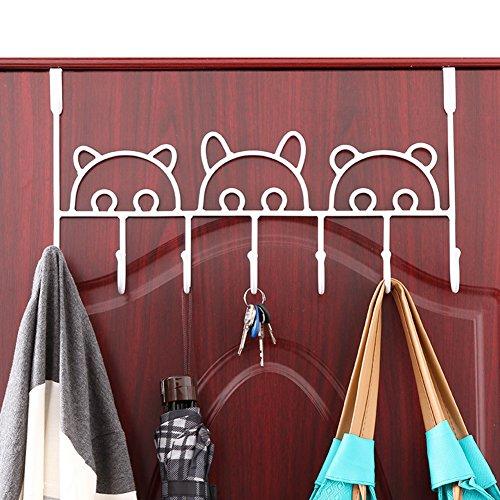durable service Creative link/The door hook/ nail-free seamless robe hook-B