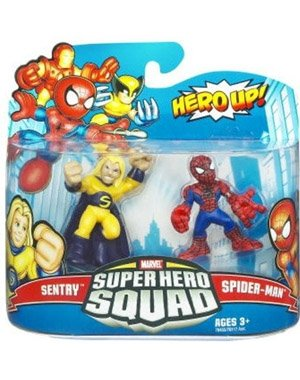 Marvel Superhero Squad Spider-Man & Sentry Action Figure 2-Pack
