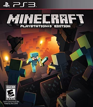 Amazon Com Minecraft Playstation 3 Sony Interactive Entertai Video Games