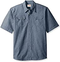 Wrangler Authentics Men's Short Sleeve Classic Woven Shirt
