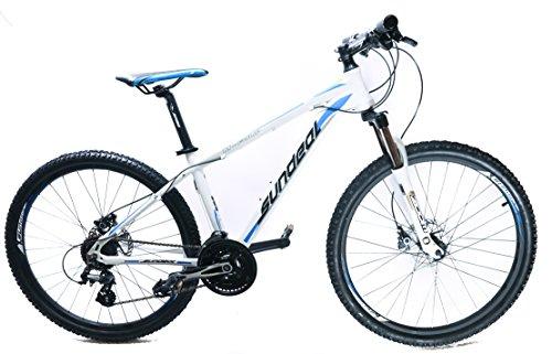 17' Sundeal M4 26' Hardtail Mountain Bike Disc Shimano Altus 3x8 MSRP $499 NEW