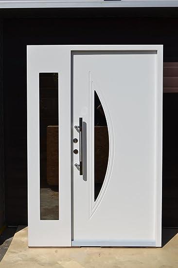 Wohnungstüren  Nr.6, Moderne Haustür, Wohnungstür in Weiß 1400x2100 mm, Innen DIN ...