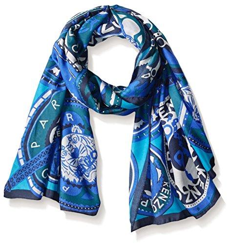 Kenzo Women's Scarf, Blue by Kenzo