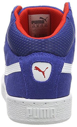 Puma Puma 1948 Mid - zapatillas deportivas altas de piel Niños^Niñas azul - Blau (limoges-white 04)