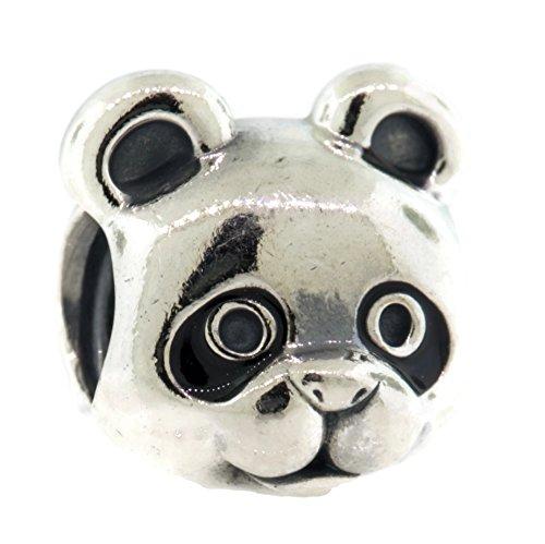Perle Pandora En Argent Charm Noir Femme 791745en16Silencieux Panda