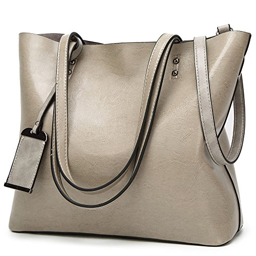 Messenger Purse Gray Shoulder Handbags Tote Handle Bag Women Top WeiSN Bag Satchel vq0R6Pw