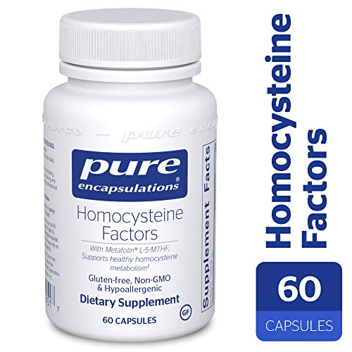(Pure Encapsulations - Homocysteine Factors - Hypoallergenic Supplement Helps Maintain Normal Homocysteine Levels and Cardiovascular Health* - 60 Capsules )