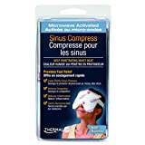 """Thermalon Microwave Activated Moist Heat-Cold Sinus and Allergy Relief Mask. 5 1/2"""" x 8"""", with ties"""