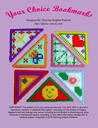 Your Choice Bookmarks: Plastic Canvas Pattern