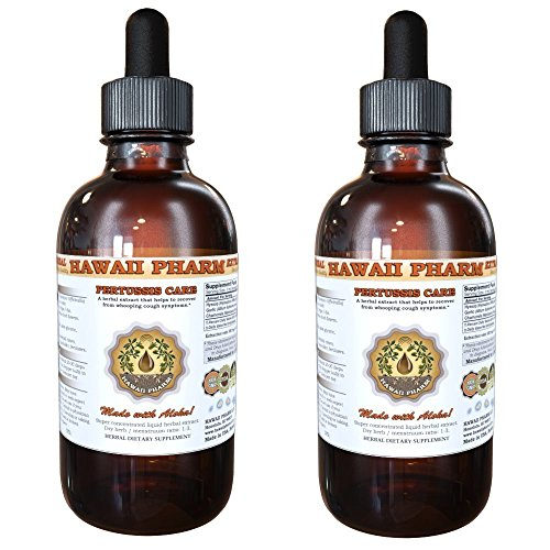 Pertussis Care Liquid Extract Herbal Dietary Supplement 2x4 oz by HawaiiPharm