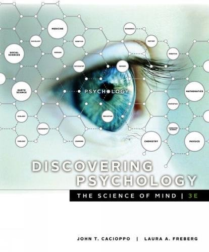 Discovering Psychology: The Science of Mind (MindTap Course List)