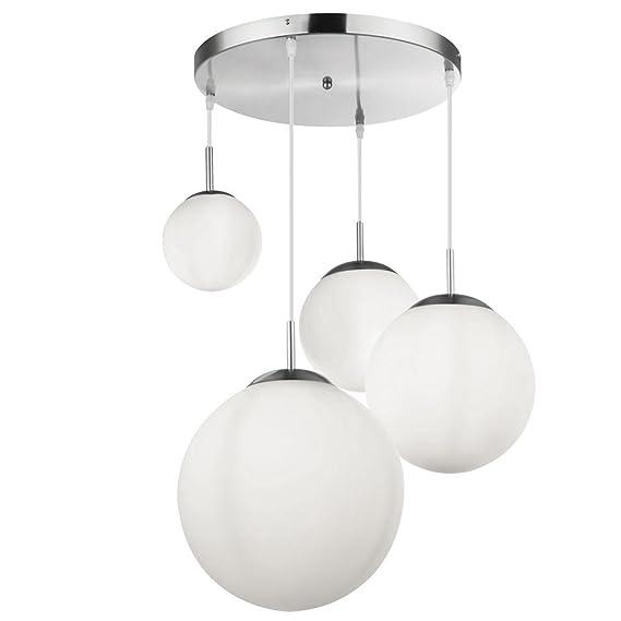 Pendel Lampen Kugel Decken Hänge Strahler Wohn Zimmer Glas