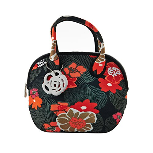 (BUILT NY Downtown Neoprene Lunch Tote, Poppy Floral)