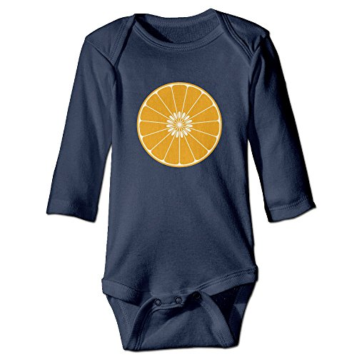 Itongquy Oranges Fashion Newborn Baby Suit Climb(Long Sleeve) 6 M Navy