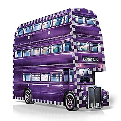 Wrebbit 3d W3d 0507 The Knight Bus Harry Potter Il Prigioniero Di Azkaban Ritter Von Wrebbit Puzzle 280 Pezzi 26 X 7 X 19 Cm