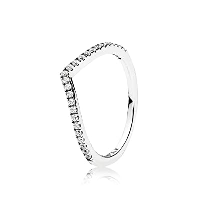 Pandora Women Silver Piercing Ring - 196401CZ-54