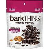 barkTHINS Dark Chocolate (Almonds with Sea Salt), 4.7 Ounce (Pack of 6)