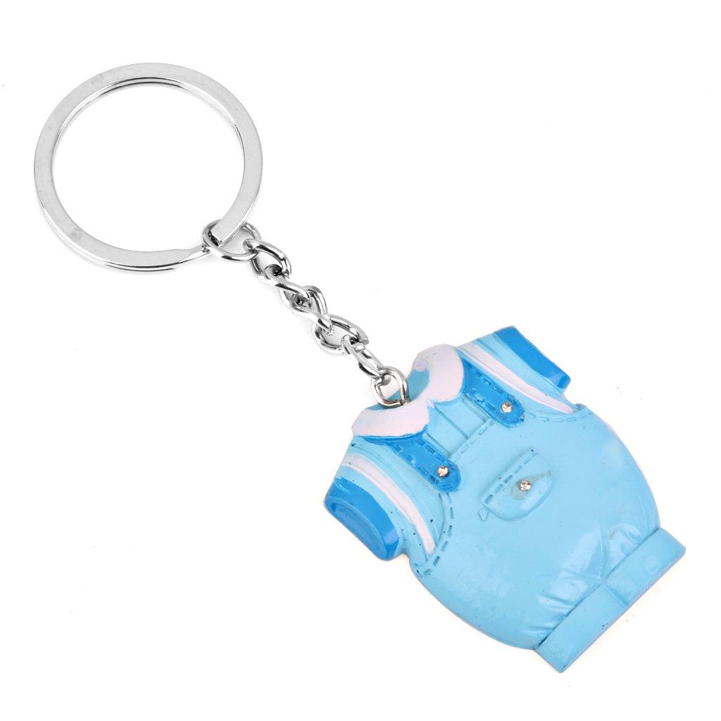 8416071b5 Llavero Llavero Preciosa Bola BebšŠ Ropa De Ni o Para Baby Shower Regalo De  Color Azul  Amazon.es  Juguetes y juegos