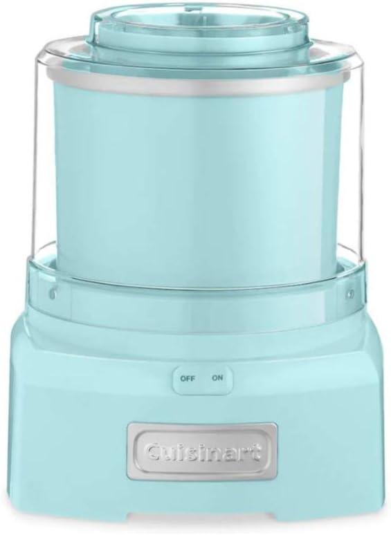 Cuisinart ICE-21 Frozen Yogurt Ice Cream and Sorbet Maker (Light Aqua) - 1.5 Quart