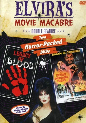 Elvira's Movie Macabre: Legacy Of Blood / The Devil's Wedding Night (Double -