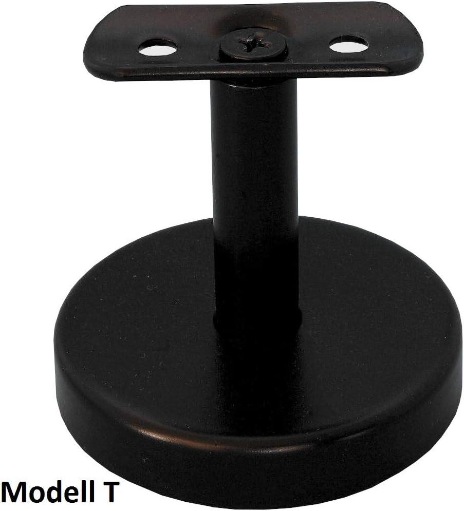 Handlaufhalter Modell J schwarz