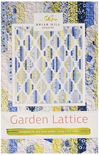 Briar Hill Designs BHDP1105 Garden Lattice Quilt Pattern - Lattice Quilt Pattern