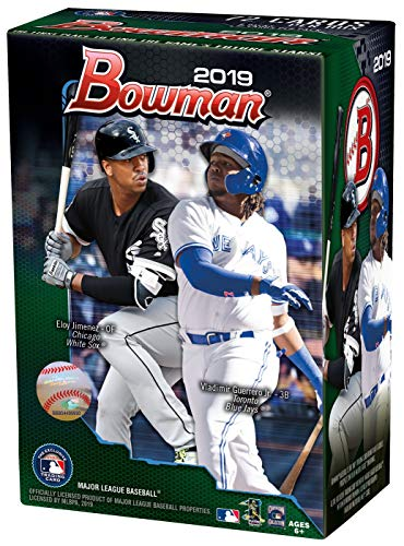 2019 Bowman Baseball Card - Topps 2019 Bowman Baseball Blaster Box (6 Packs/12 Cards: 5 Inserts)