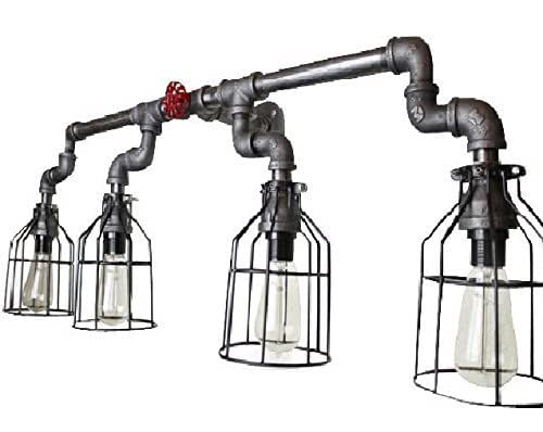 Amazon.com: Wall Sconce Industrial Lighting W/ Cages