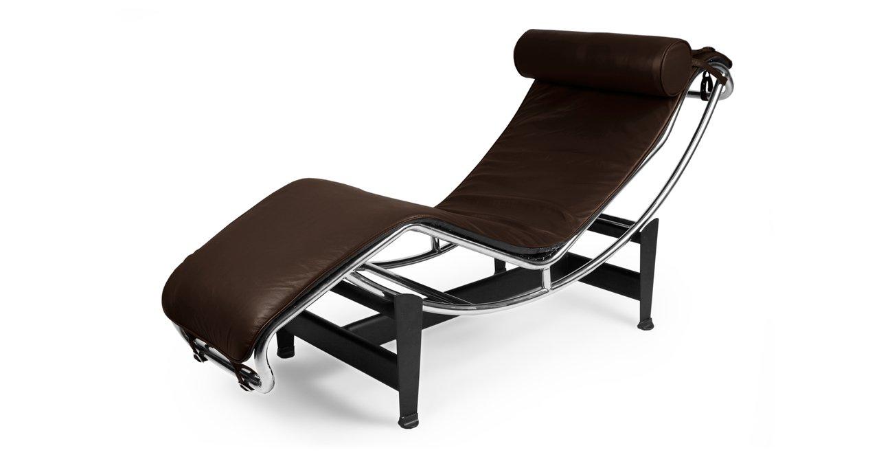 Amazon.com: Kardiel Gravity Chaise Lounge, Choco Brown Aniline Leather:  Kitchen U0026 Dining