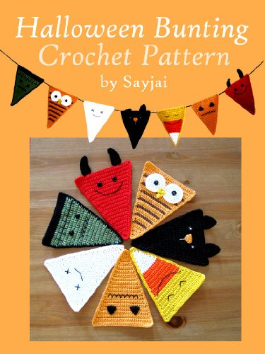 Halloween Bunting Crochet Pattern -