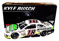 AUTOGRAPHED 2014 Kyle Busch #18 Interstate Batteries Racing (Joe Gibbs) Signed Rare Lionel 1/24 NASCAR Diecast Car with COA (#347 of only 948 produced!) by Trackside Autographs
