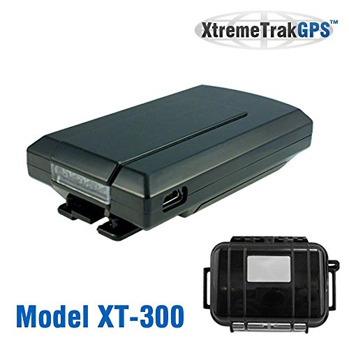 XtremeTrakGPS XT-300 Portable Vehicle and Personal Live GPS Tracking Device with Free Activation, Magnetic Mount Car Case, and No Monthly Contract