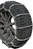 TireChain.com 2229sq Square Straight Link Truck Tire Chains with Cams, priced per pair